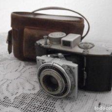 Cámara de fotos: ANTIGUA CÁMARA ALEMANA FOTOGRÁFICA DE FOTOS CON FUELLE PLEGABLE AGFA KARAT AÑO 1938 III REICH ALEMÁN. Lote 151578258