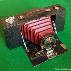Cámara de fotos: KODAK 2A FOLDING POCKET, FUELLE ROJO C1900. Lote 151592218