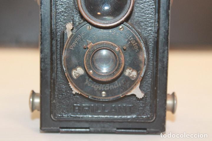 Cámara de fotos: CAMARA FOTOGRÁFICA VOIGTLANDER BRILLANT, GERMANY - Foto 2 - 152290926