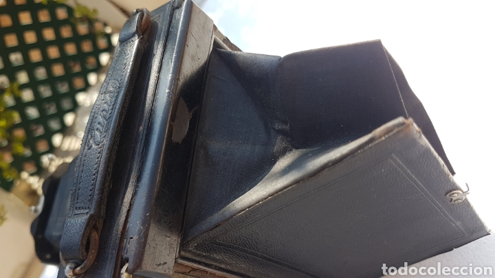 Cámara de fotos: Rara camara fotografica de fuelle ica cupido modell 1909 - Foto 7 - 152294252