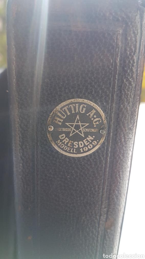 Cámara de fotos: Rara camara fotografica de fuelle ica cupido modell 1909 - Foto 10 - 152294252