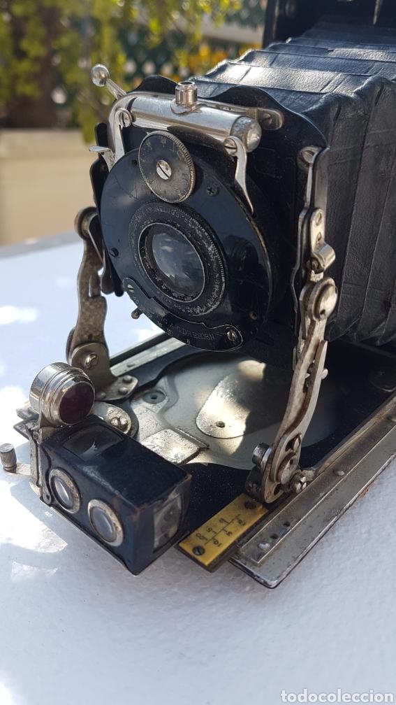 Cámara de fotos: Rara camara fotografica de fuelle ica cupido modell 1909 - Foto 15 - 152294252