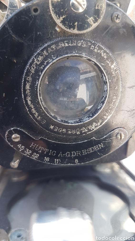 Cámara de fotos: Rara camara fotografica de fuelle ica cupido modell 1909 - Foto 17 - 152294252