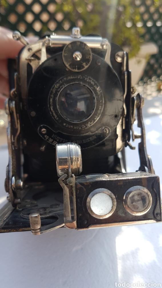 Cámara de fotos: Rara camara fotografica de fuelle ica cupido modell 1909 - Foto 20 - 152294252
