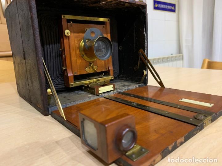 Cámara de fotos: Kodak No. 4 Folding Kodet Special - Foto 6 - 152662690