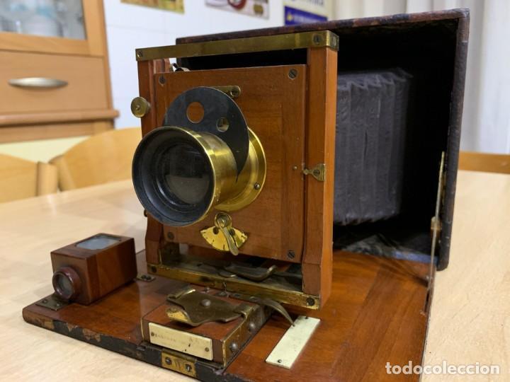 Cámara de fotos: Kodak No. 4 Folding Kodet Special - Foto 8 - 152662690