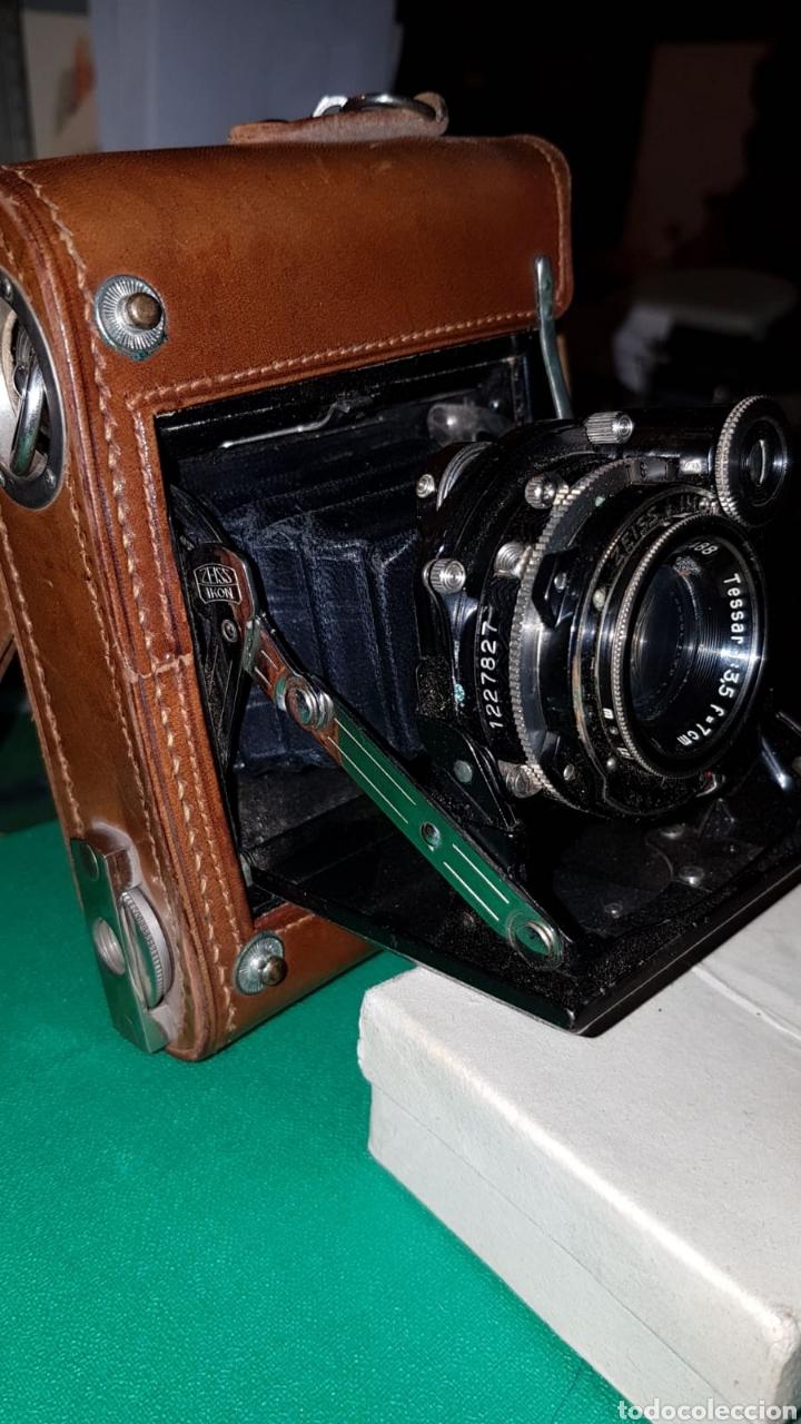 ANTIGUA CÁMARA FOTOGRÁFICA ZEISS IKON SUPER IKONTA (Cámaras Fotográficas - Antiguas (hasta 1950))