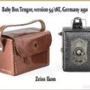Cámara de fotos: ZEISS IKON BABY BOX, VERSION 54/18E. ALEMANA. EN MUY BUENA CONDICION.. Lote 153197882