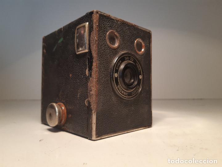 KODAK BROWNIE JUNIOR SUPER SIX-20, AÑOS 1.935-1.940(Cámaras Fotográficas - Antiguas (hasta 1950))