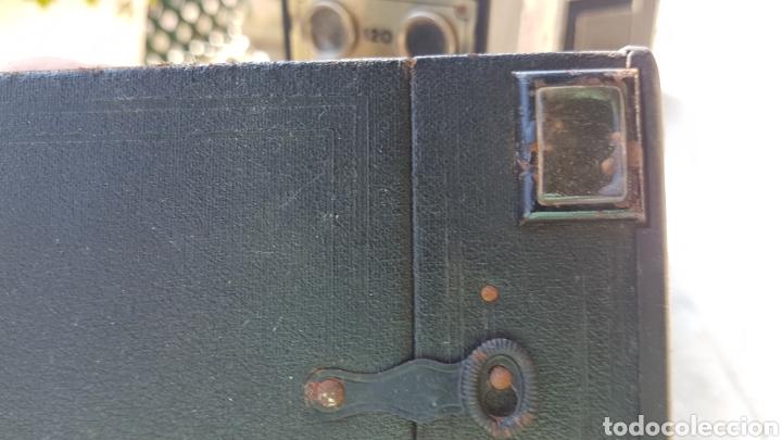 Cámara de fotos: Antigua camara cajon fotografica Coronet objectif meniscope tiranty - Foto 5 - 153463018