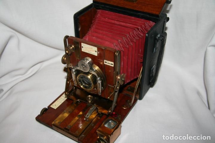 Cámara de fotos: Camara de madera Sanderson IMPECABLE - Foto 4 - 153799138