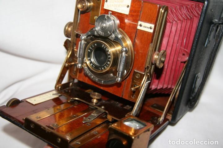 Cámara de fotos: Camara de madera Sanderson IMPECABLE - Foto 5 - 153799138