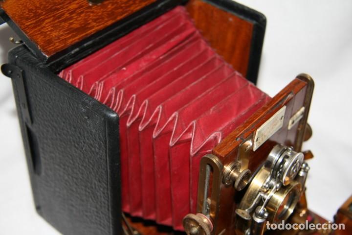 Cámara de fotos: Camara de madera Sanderson IMPECABLE - Foto 8 - 153799138