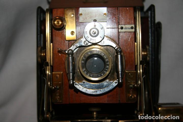 Cámara de fotos: Camara de madera Sanderson IMPECABLE - Foto 9 - 153799138