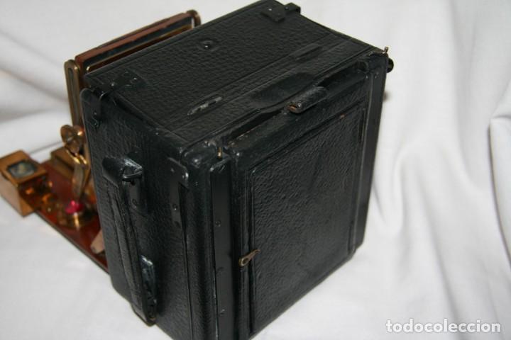 Cámara de fotos: Camara de madera Sanderson IMPECABLE - Foto 11 - 153799138