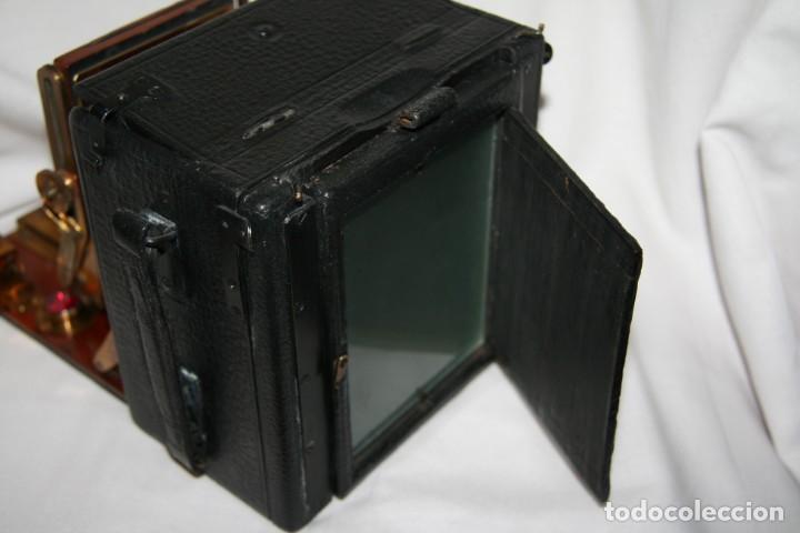 Cámara de fotos: Camara de madera Sanderson IMPECABLE - Foto 12 - 153799138