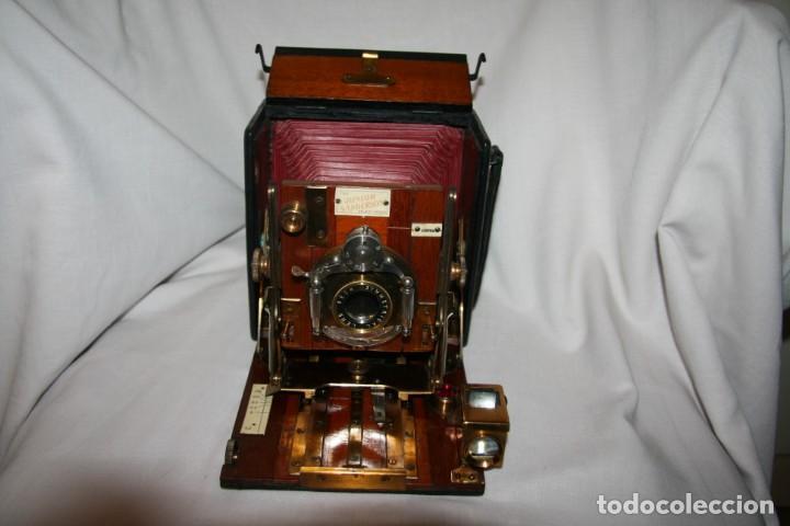 Cámara de fotos: Camara de madera Sanderson IMPECABLE - Foto 17 - 153799138