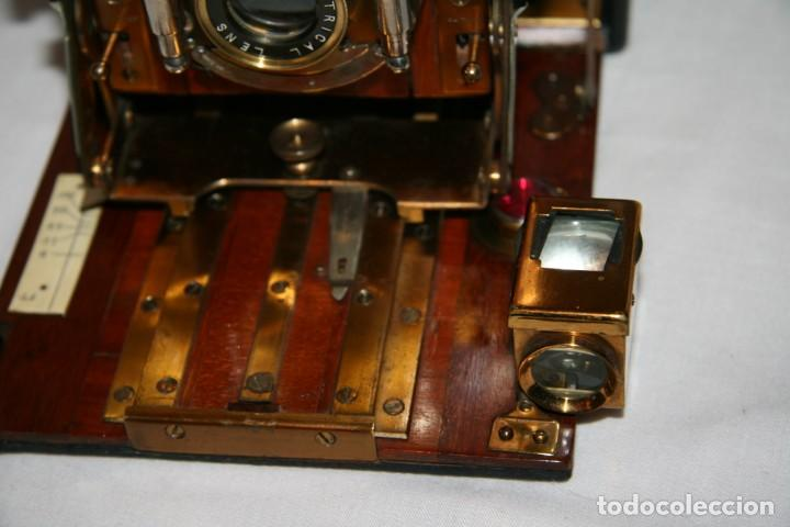 Cámara de fotos: Camara de madera Sanderson IMPECABLE - Foto 18 - 153799138