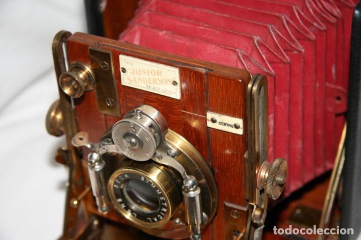 Cámara de fotos: Camara de madera Sanderson IMPECABLE - Foto 19 - 153799138