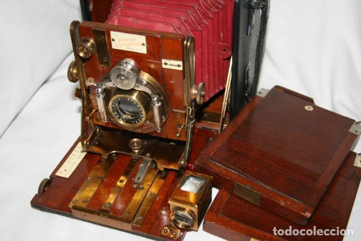 CAMARA DE MADERA SANDERSON IMPECABLE (Cámaras Fotográficas - Antiguas (hasta 1950))