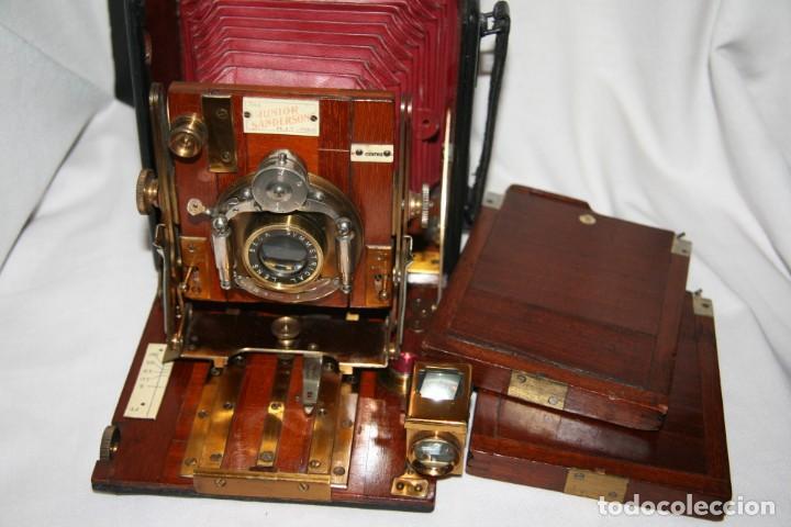 Cámara de fotos: Camara de madera Sanderson IMPECABLE - Foto 21 - 153799138
