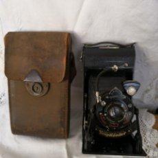 Cámara de fotos: VOIGTLANDER BESSA - CAMARA DE FUELLE - 1929-LENTE VOIGTAR 1:7,7. Lote 153895042