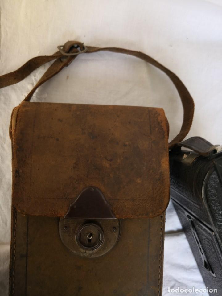 Cámara de fotos: VOIGTLANDER BESSA - CAMARA DE FUELLE - 1929-LENTE VOIGTAR 1:7,7 - Foto 11 - 153895042