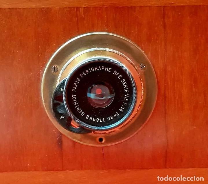 Cámara de fotos: CAMARA DE ESTUDIO C 1900, FUELLE ROJO - Foto 3 - 154133638