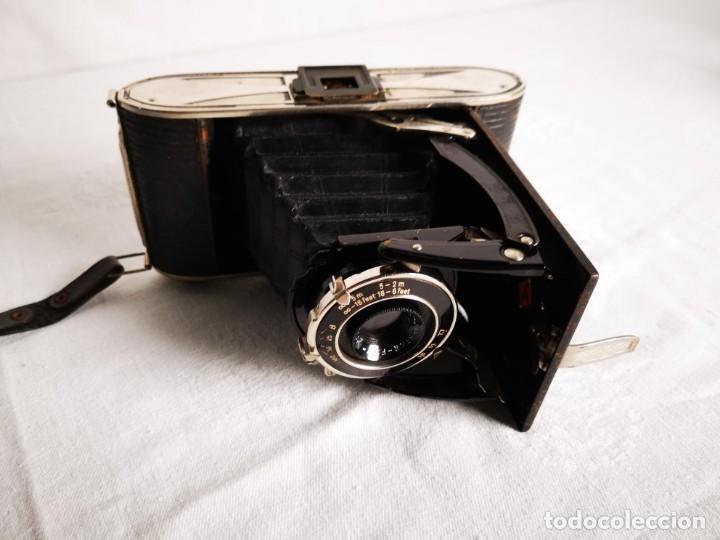 ANTIGUA CAMARA DE FUELLE AGFA BILLY RECORD (Cámaras Fotográficas - Antiguas (hasta 1950))