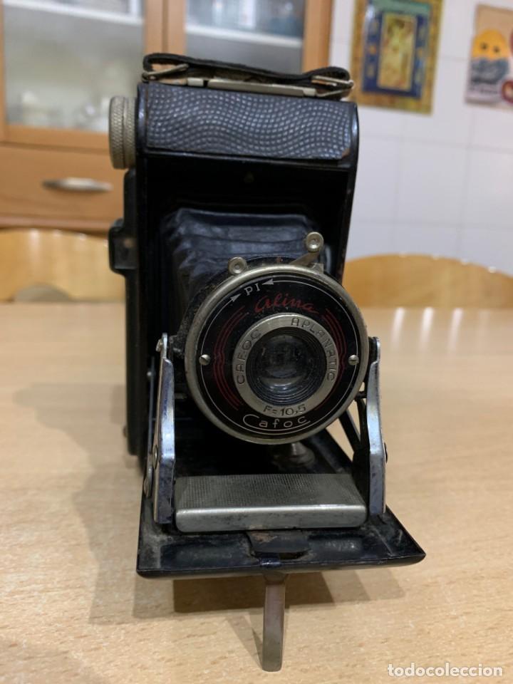 ALINA CAFOC FABRICADA EN ESPAÑA AÑOS 50 (Cámaras Fotográficas - Antiguas (hasta 1950))