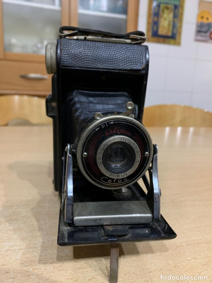 Cámara de fotos: ALINA CAFOC FABRICADA EN ESPAÑA AÑOS 50 - Foto 10 - 154841266