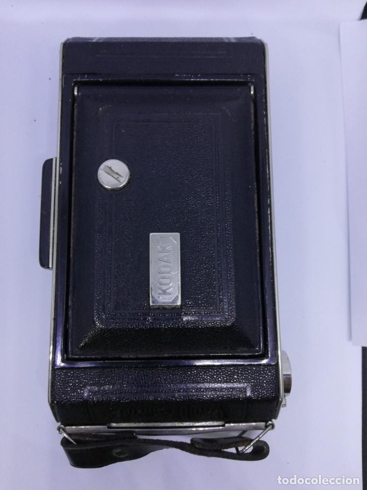 Cámara de fotos: Kodak ANASTIGMAT Junior 620 Film Folding Camera – cámara vintage antigua fuelle - Foto 4 - 155090278