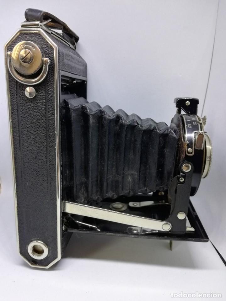 Cámara de fotos: Kodak ANASTIGMAT Junior 620 Film Folding Camera – cámara vintage antigua fuelle - Foto 10 - 155090278
