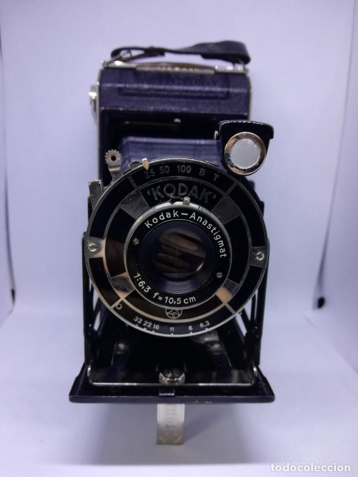 Cámara de fotos: Kodak ANASTIGMAT Junior 620 Film Folding Camera – cámara vintage antigua fuelle - Foto 11 - 155090278