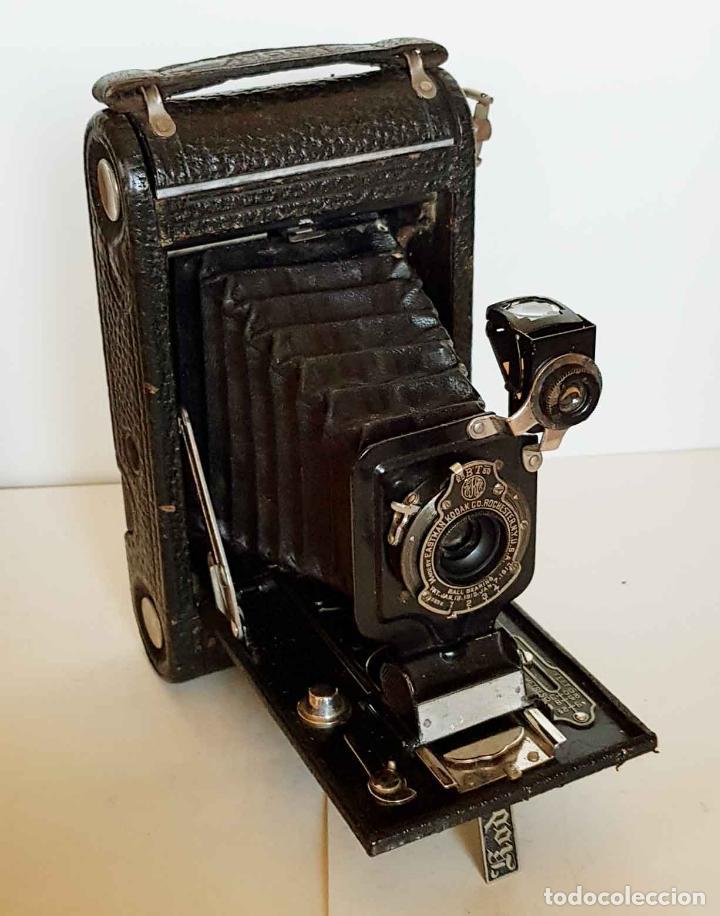 CAMARA KODAK Nº 1 JUNIOR MODELO A (Cámaras Fotográficas - Antiguas (hasta 1950))