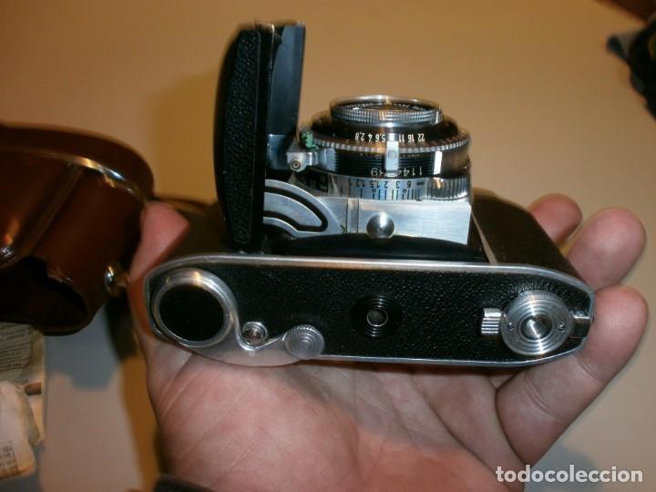 Cámara de fotos: camara antigua kodak retina II c muy buen estado funcionando perfectamente - Foto 7 - 155271990
