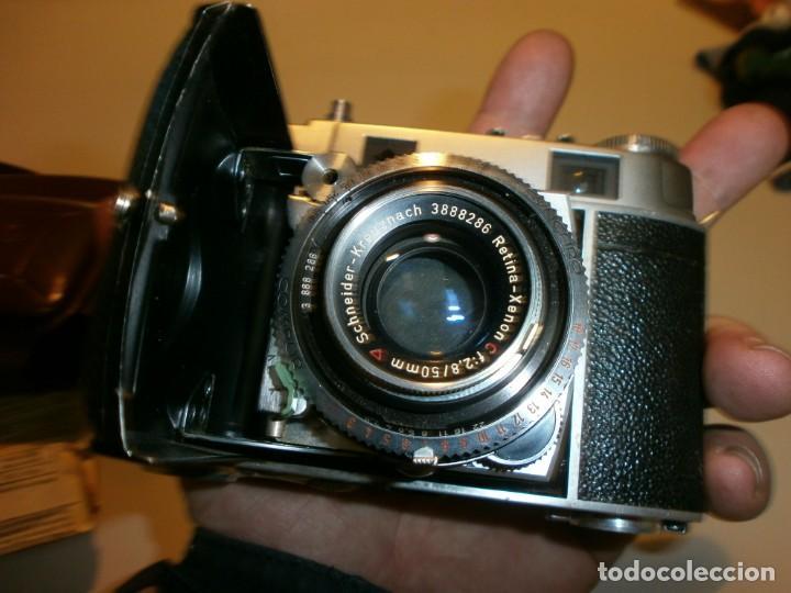 Cámara de fotos: camara antigua kodak retina II c muy buen estado funcionando perfectamente - Foto 8 - 155271990