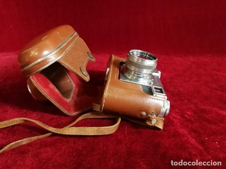 Cámara de fotos: CAMARA DE FOTOS RARA CONTAX II con objetivo CARL ZEISS JENNA 1,5 - T-5cm año aprox 1936 OPORTUNIDAD - Foto 6 - 155336490
