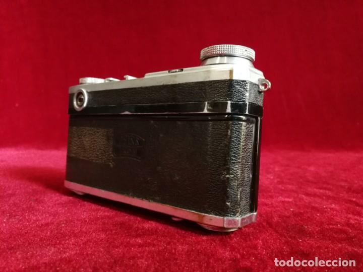 Cámara de fotos: CAMARA DE FOTOS RARA CONTAX II con objetivo CARL ZEISS JENNA 1,5 - T-5cm año aprox 1936 OPORTUNIDAD - Foto 8 - 155336490