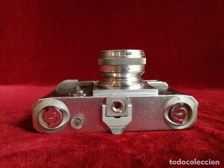 Cámara de fotos: CAMARA DE FOTOS RARA CONTAX II con objetivo CARL ZEISS JENNA 1,5 - T-5cm año aprox 1936 OPORTUNIDAD - Foto 11 - 155336490