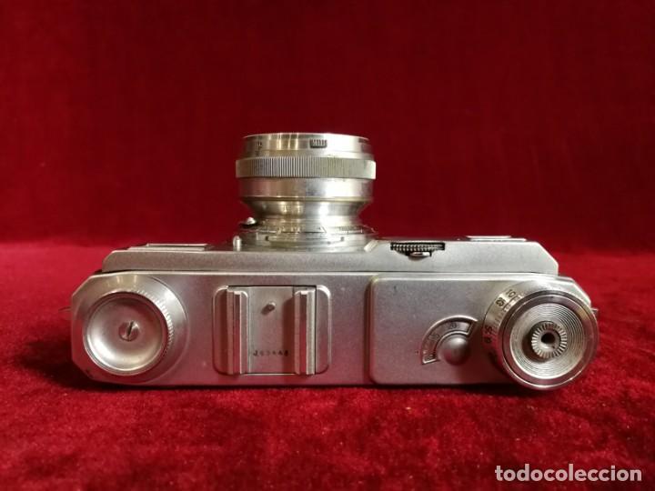 Cámara de fotos: CAMARA DE FOTOS RARA CONTAX II con objetivo CARL ZEISS JENNA 1,5 - T-5cm año aprox 1936 OPORTUNIDAD - Foto 12 - 155336490