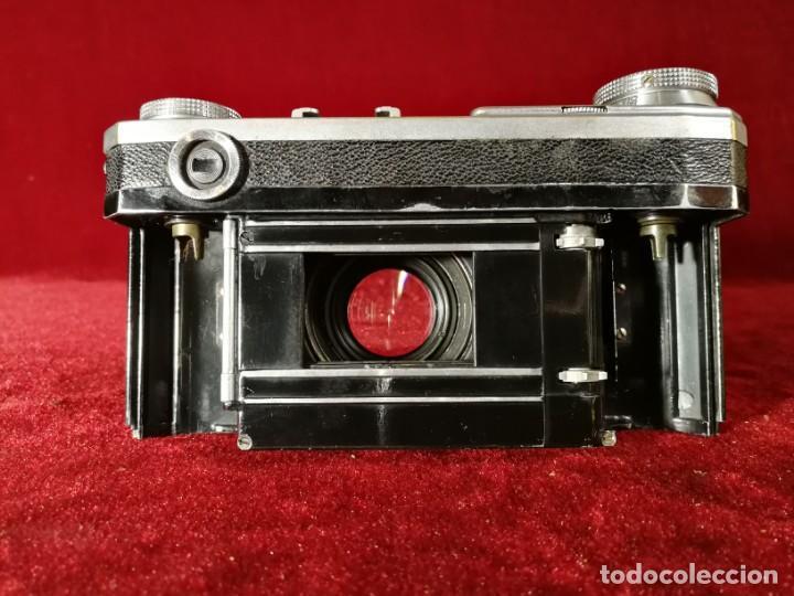 Cámara de fotos: CAMARA DE FOTOS RARA CONTAX II con objetivo CARL ZEISS JENNA 1,5 - T-5cm año aprox 1936 OPORTUNIDAD - Foto 14 - 155336490