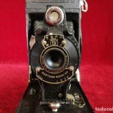 Cámara de fotos: EXCELENTE CÁMARA FOTOGRÁFICA KODAK FUELLE FOLDING HAWK-EYE ,MODELO Nº 2 . 1926. US Nº 2 AUTOGRAPHIC. Lote 155342598