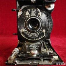 Cámara de fotos: EXCELENTE CÁMARA FOTOGRÁFICA KODAK JUNIOR POCKET FUELLE MODELO Nº 1 . ANTIGUA OPORTUNIDAD !!!!. Lote 155429802