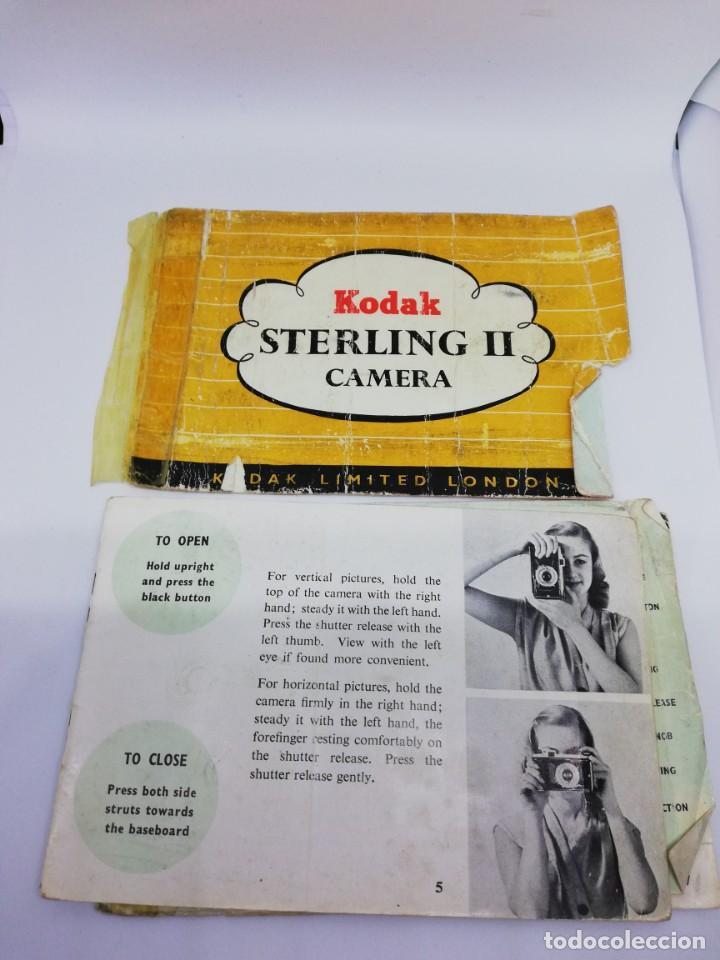 Cámara de fotos: Kodak Sterling II Camera - Cámara Antigua de Fuelle Vintage - Foto 2 - 156315622