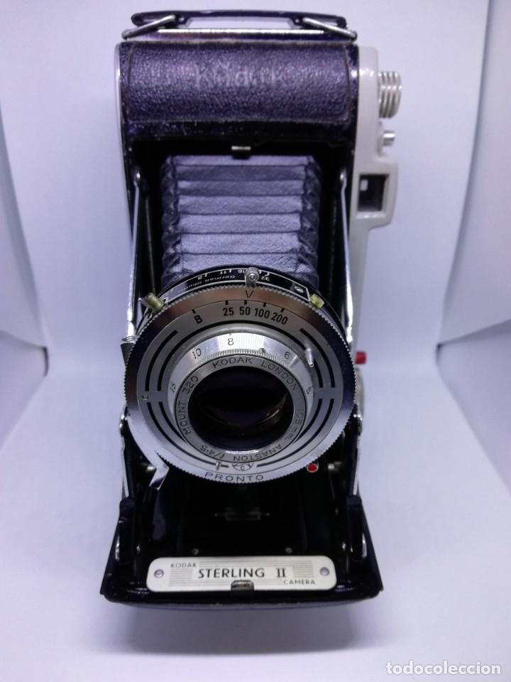 Cámara de fotos: Kodak Sterling II Camera - Cámara Antigua de Fuelle Vintage - Foto 8 - 156315622