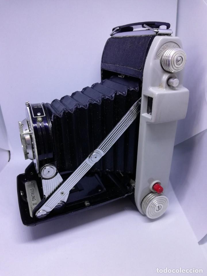 Cámara de fotos: Kodak Sterling II Camera - Cámara Antigua de Fuelle Vintage - Foto 9 - 156315622