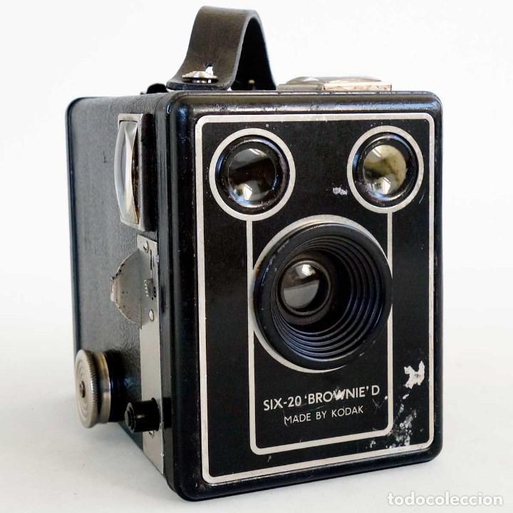 CÁMARA KODAK BROWNIE D SIX 20. 1946 (Cámaras Fotográficas - Antiguas (hasta 1950))