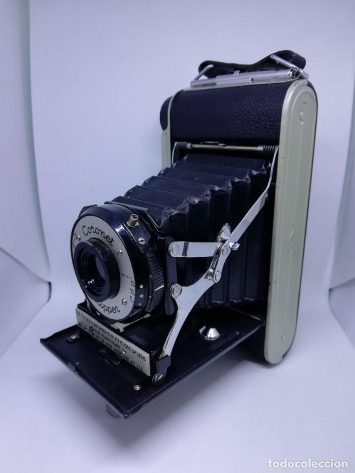CAMARA CORONET CLIPPER MUY EXCEPCIONAL Y RARA DE FUELLE ANTIGUA DE COLECCIONISMO VINTAGE (Cámaras Fotográficas - Antiguas (hasta 1950))