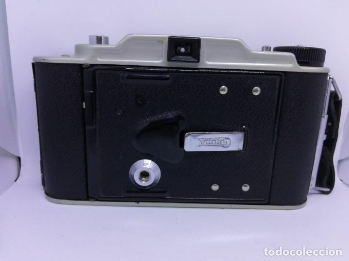 Cámara de fotos: Camara Coronet Clipper muy excepcional y rara de fuelle antigua de coleccionismo vintage - Foto 4 - 157342450